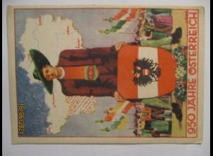 950 Jahre Österreich, Sonderkarte 1946 (46662)