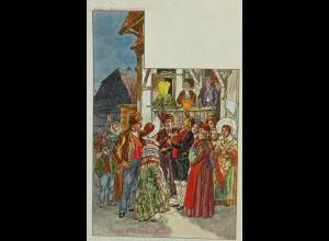 """""""Sainte-Cecile""""1900, sig. P. Kaufmann ♥"""