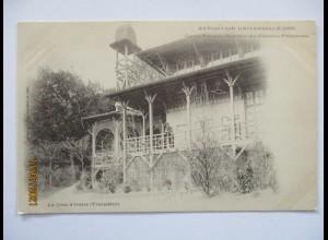 Frankreich Paris Kolonial-Ausstellung 1900, Elfenbeinküste Pavillon (19279)