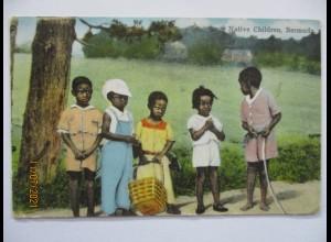 Bermuda Afrikaner, Native Children 1937 (55746)