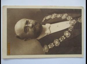 Österreich Wien Bürgermeister Richard Weiskirchner ca. 1917 (399)
