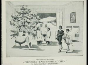 """""""Weihnachten, Kinder, Märchen, Prinzess Tausendhändchen"""" 1900 ♥ (1104)"""