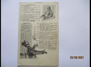 Judaika Stoltze Karte, Der Gedalje, ca. 1910 (53137)