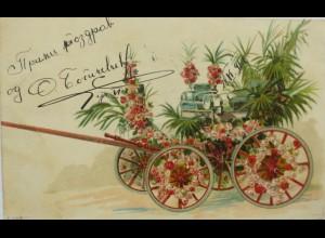 """""""Blumen, Kutsche, Rosen"""" 1898 ♥"""