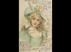 """Frauen, Mode, Hutmode"" 1901 ♥"