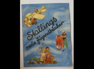 """""""Reklame, Werbung, Stallings neue Jugendbücher"""" 1950 Das Wunderauto♥"""