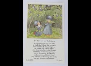 Sammelbilder, Die Blaubeere und die Einbeer, 1930, ARS ♥