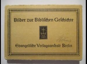 Religion Bibel, 56 kleine Bildchen im Heft ca.50er Jahre