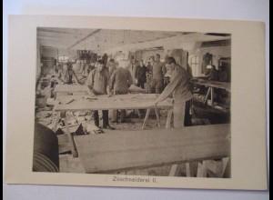 Berufe, Werkstatt, Zuschneiderei, ca. 1914