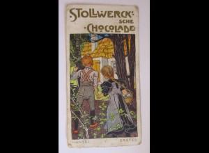 """""""Stollwerck"""" Gruppe179 , Nr.5 Stollwerck, Album 4, Hänsel und Gretel ♥"""