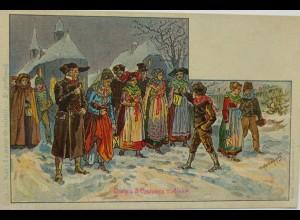 """""""Weihnachten"""" 1900, sig. P.Kaufmann ♥"""