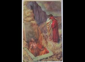 Religion, Auferstehung von den Toten, Künstlerkarte D.Mastroianni (5489)