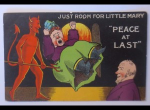 """Teufel, Just Room for Little Mary, Peace at Last"" 1910 ♥"