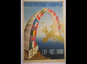 Italien, Europa, Ricostruzione Europea, ERP, 1948