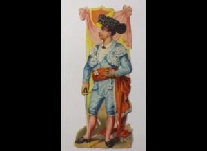 Oblaten, Spanier, 1930, 12 cm x 4 cm ♥ (45932)
