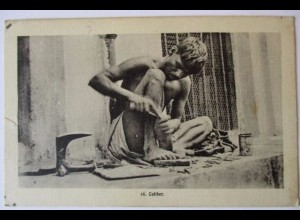 Berufe, Schuster, Schuhe, Indien ca. 1910