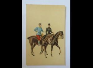 """""""Pferde, Reiter"""" 1900 ♥ (34672)"""