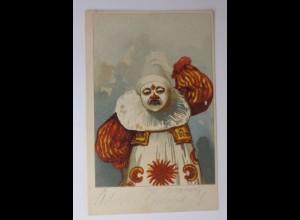 Zirkus, Clown, Harlekin, 1900 ♥ (44200)
