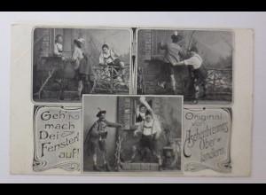 Zirkus, Aschenbrenners Oberlandlern, Geh mach Dei Fensterl auf, 1910 ♥ (44189)