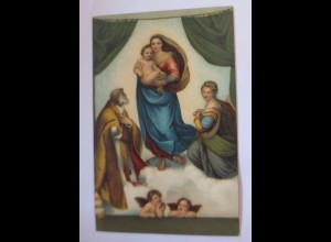 """""""Religion, Die Sixtinische Madonna"""" 1910, Stengel & Co ♥"""