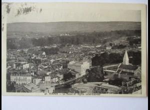 Frankreich, Verdun, Stadtansicht, 1935