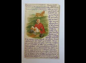 """""""Pferde, Reiter"""" 1902, Verlag Raphael Tuck & Sons ♥ (34665)"""