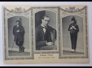 Zirkus, Comedy, Jakob Erbe, Die urkomische Type, 1910 ♥ (44190)
