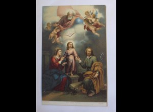 """Religion, Die Heilige Familie"" 1910, Stengel & Co ♥"