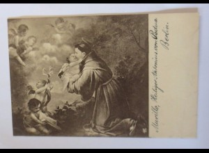 """Religion, Heiliger Antonius von Padua"" 1910, Siegmey´s- Meisterkarte ♥"