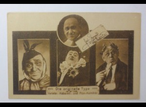 Zirkus, Comedy, Clown, Die Originelle Type, Variete, Kabarett, 1910 ♥ (44192)