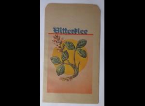 Werbung, Reklame, Kaufladen Tütchen, Bitterklee, 1920 ♥ (69976)