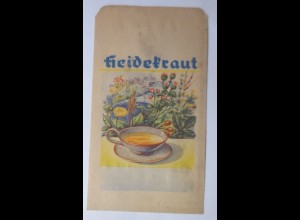 Werbung, Reklame, Kaufladen Tütchen, Heidekraut, 1920 ♥ (69978)