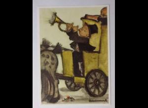 """Kinder, Postkutsche, Posthorn"" 1970, B. Hummel ♥"