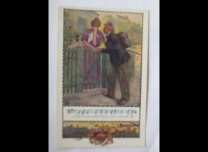 Deutscher Schulverein, Nr. 367, Muss i denn zum Städtele, Lied, 1910 ♥ (7760)