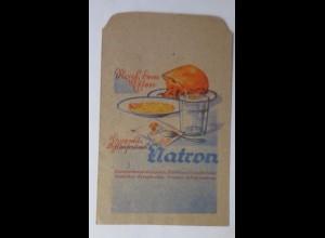 Werbung, Reklame, Kaufladen Tütchen, Natron, 1920 ♥ (69983)