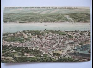 Italien, Trieste, Panorama, ca. 1900