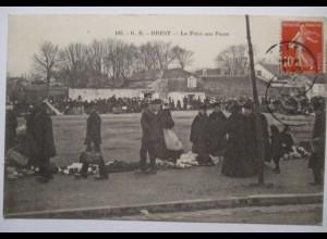 Frankreich Brest Foire aux Puces, Flohmarkt