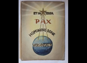 """""""Religion, Etin Terra, Pax, Frieden"""" 1910 ♥"""