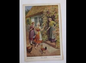 """""""Märchen, Frau Holle"""" 1930, O. Kubel ♥"""