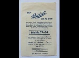 """""""Mit Reichelt um die Welt"""" Bild No.79-84 kpl.,1937 (30955K)"""