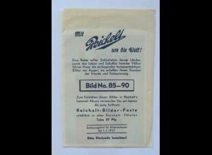 """""""Mit Reichelt um die Welt"""" Bild No.85-90 kpl.,1937 (30956K)"""