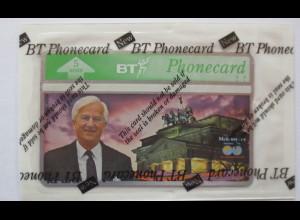 Großbritannien, BT Phonecard Weizsäcker, Deutschland, ungebraucht OVP
