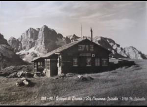 Italien, Südtirol, Capanna Spinale, Fotokarte 1965 (14102)