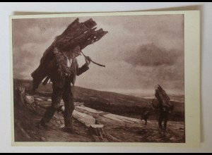"""""""Berufe, Holz, Rindenträger"""" 1945 ♥"""