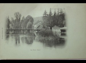Frankreich, Le Pont Vert, ca. 1900