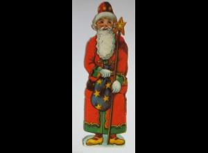 """""""Weihnachten, Weihnachtsmann"""" Alte Oblaten ♥ (27804)"""