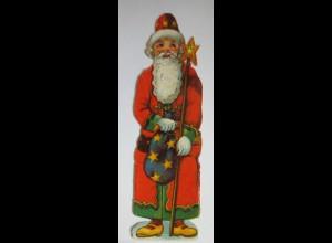 """""""Weihnachten, Weihnachtsmann"""" Alte Oblaten ♥ (27808)"""