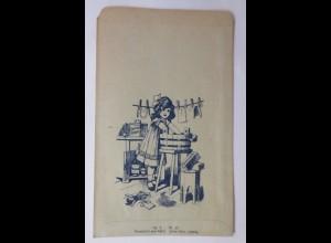 Reklame, Tütchen, Quillayarinde, Panamaspäne, Seifenholz 1920 ♥ (69989)