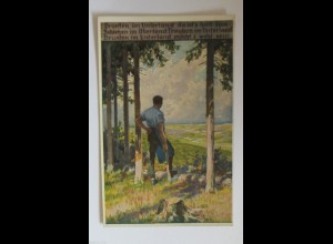 """""""Berufe, Holz, Förster, Waldarbeiter"""" 1910, Paul Hey ♥"""