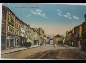 Lothringen, Mörchingen, Marktplatz, ca. 1910